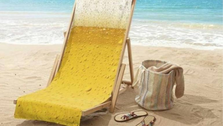 Beach Towel Beer
